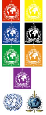 Interpol Notice Logos
