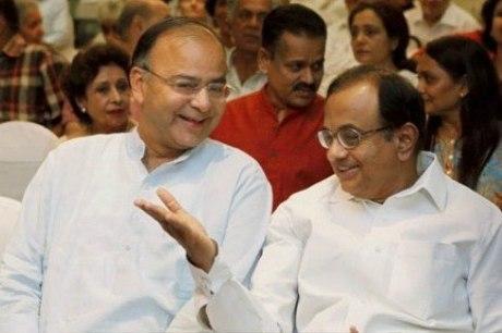 Arun Jaitley & P. Chidambaram