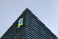Standard Chartered Bank at its new Singapore office tower at the Marina Bay Financial Centre.