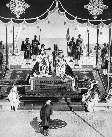 Nizam of Hyderabad at the Delhi Durbar 1911