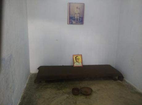 Sarvarkar's cell in the Cellular Jail, Port Blair, Andaman & Nicobar Islands.