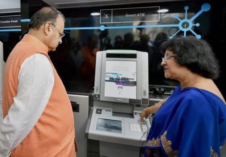 Arun Jaitley & Arundhati Bhatacharya