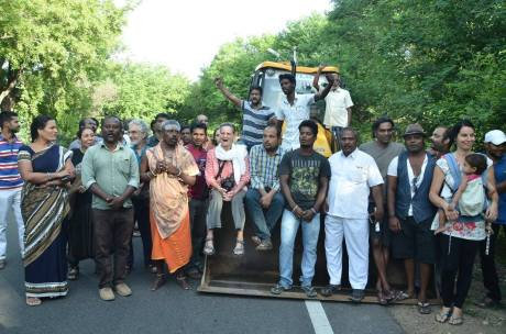 Girivalam Protest