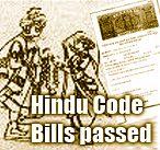 Hindu Code Bills
