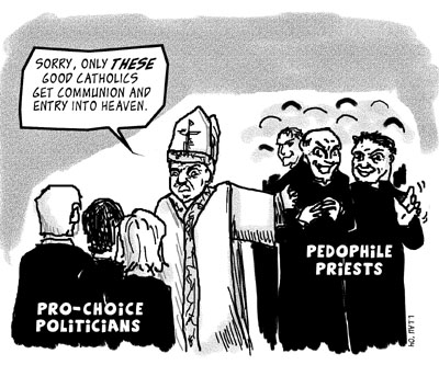 Paedophile priests go to heaven