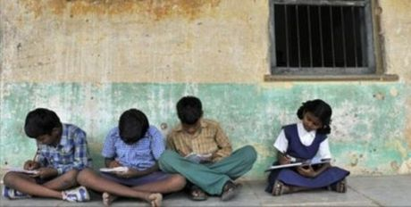 Students Govt Primary School Hyderabad