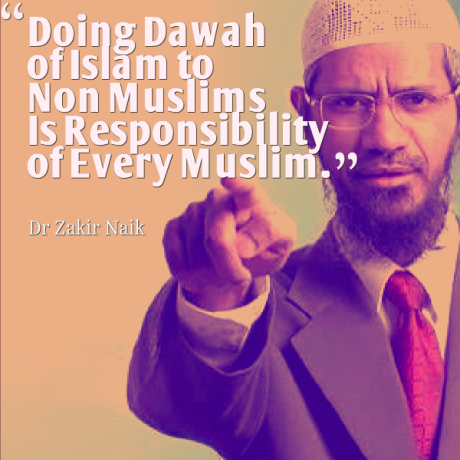 Zakir Naik Quote