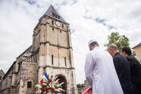 Saint Etienne Church in Saint-Etienne-du-Rouvray, near Rouen, France