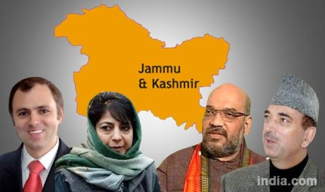 Kashmir Political Leaders 2014