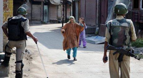 Curfew in Srinagar August 2016