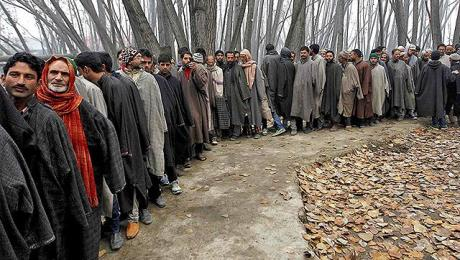 Kashmiris Vote 2014