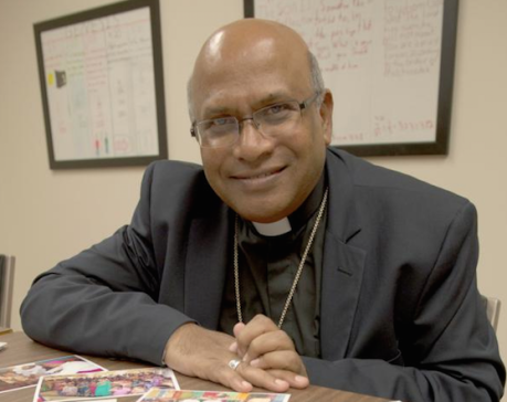 Fr Prasad Gallela is the Bishop of Cuddapah