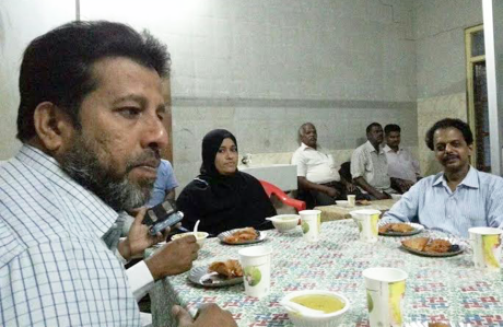 Ramanathapuram : Iftar party inside Keezhakarai Government Hospital
