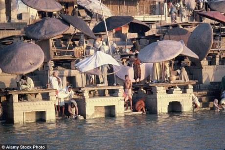 Ganga at Varanasi