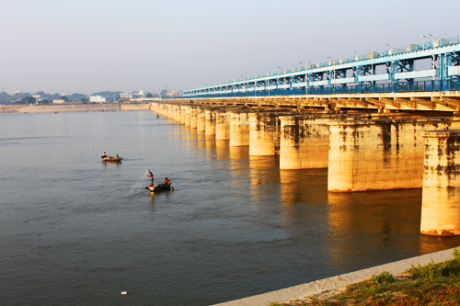 Ganga Barrage at Kanpur