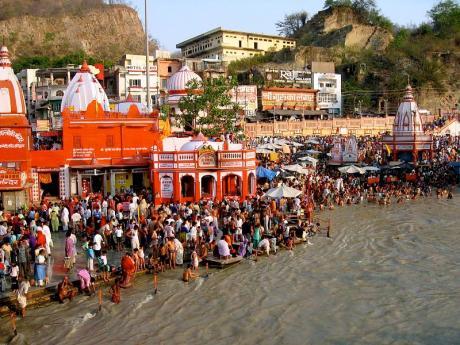 Ganga at Har ki Pauri Haridwar