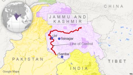 Line of Control Kashmir 2016
