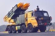 Pinaka Rocket Launcher