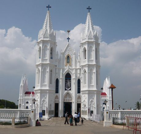 Basilica of Our Lady of Health at Velankanni, Tamil Nadu