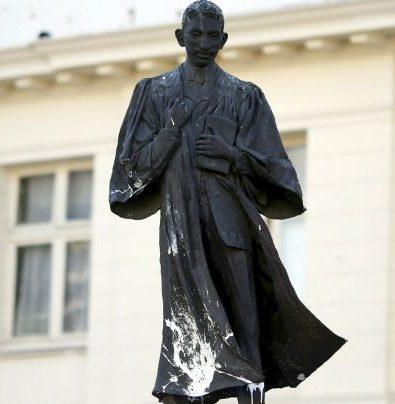 Gandhi statue in Johannesburg
