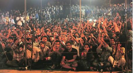 JNU Students Union Polls