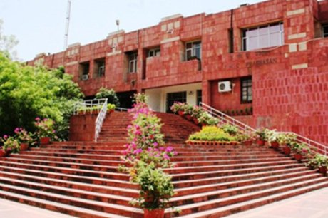 JNU : Known today as the national centre of anti-national politics.