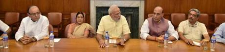 Narendra Modi chairs meeting on air strikes against Pakistan terrorists