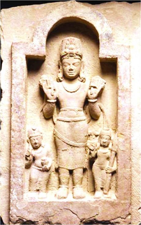 Pingala with Surya and Dandi