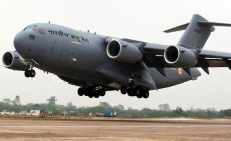 Boeing C-17 Globemaster III military transport aircraft
