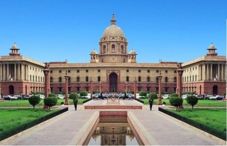 Finance Ministry India in North Block Secretariat