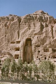 This female Bamiyan buddha called Shamama was 38 metres high