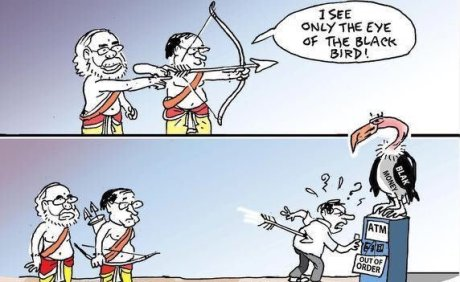 Modi Cartoon