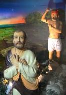 St Thomas and Hindu assassin