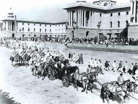 Rajendra Prasad : Republic Day 1950