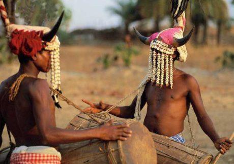 Koya tribe drummers of Odisha