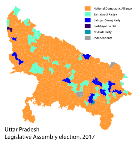 Uttar Pradesh election results (2017)