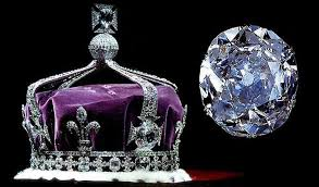 British crown with Koh-i-Noor diamond (front cross center)