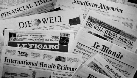 European newspapers follow The New York Times!