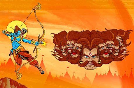Rama & Ravana
