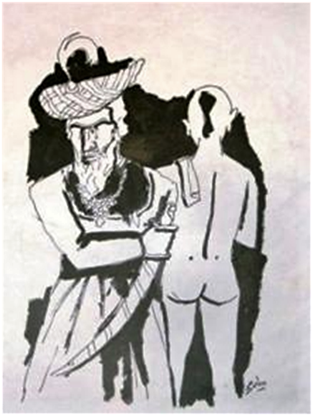Brahmin & Moghul