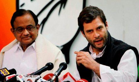 Rahul Gandhi & Chidambaram