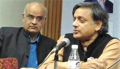 Bhanu Dhamija & Shashi Tharoor