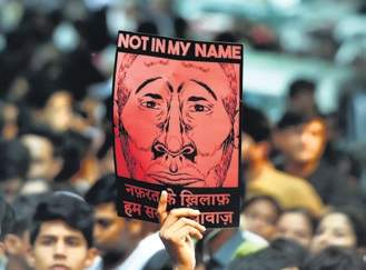 Protesters in New Delhi (2017)