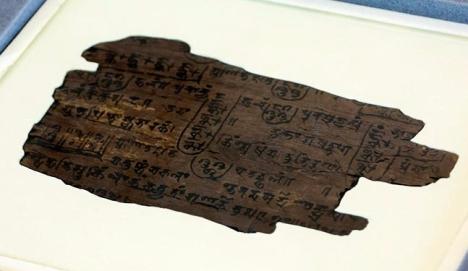 Bakhshali Manuscript (ca. 3rd-4th century)