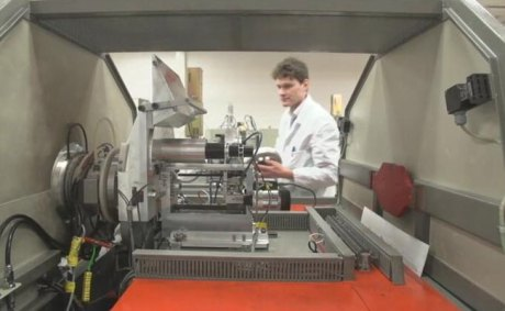 Carbon dating machine at Oxford University