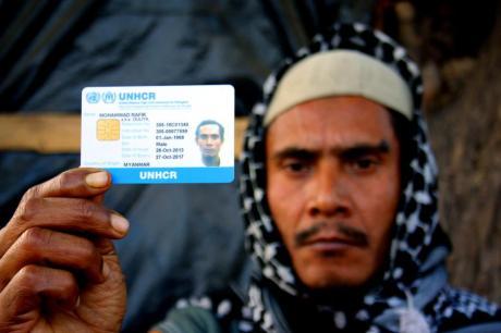 Rohingya refugee in Jammu