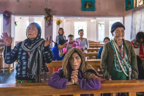 Tribal Christian converts in Arunachal Pradesh