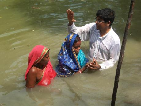 Seventh-Day Adventist baptism in India