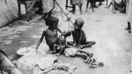 Bengal famine orphans (1943)