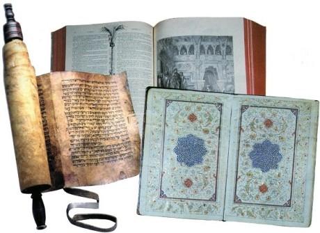 Torah Bible Koran